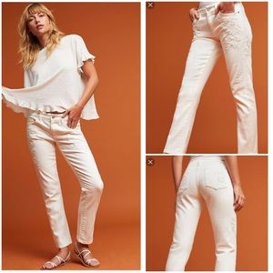 Anthropologie NWT Pilcro Hyphen Mid-Rise Jeans 30